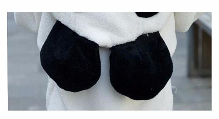 2017 Korea Zima Puszyste Panda Ucha Kobiety Swetry z Wełny Kaptur Batwing rękaw Bluza Dorywczo Słodkie Znosić sudadera mujer 8