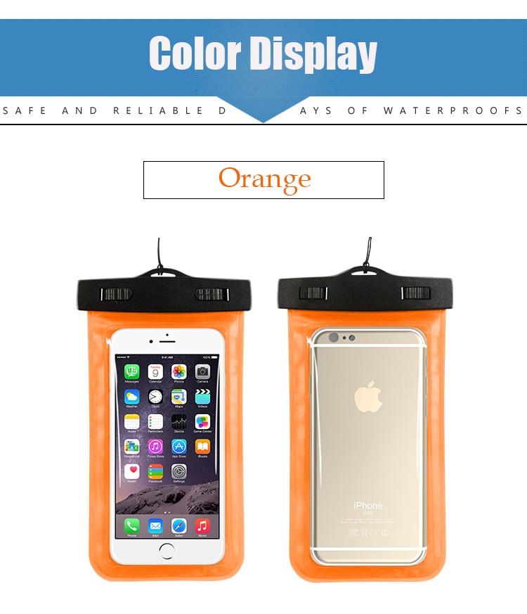Tmalltide Uniwersalny Telefon Torby Etui z Paskiem Wodoodporne Przypadkach 5S Pokrowce na iPhone 6 6 S 7 Plus Skrzynki Pokrywa 21