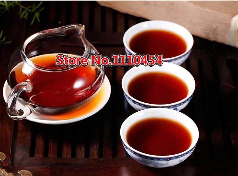 250g Puer Tea Ripe Pu-erh Shu Brick Tea Pu'er Ancient Tree Chinese 30 Years Old Puerh Tea pu erh cha for Fat Burning