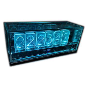 latest 6 Bit LED Glow Digital Clock Nixie Tube Clock Kit