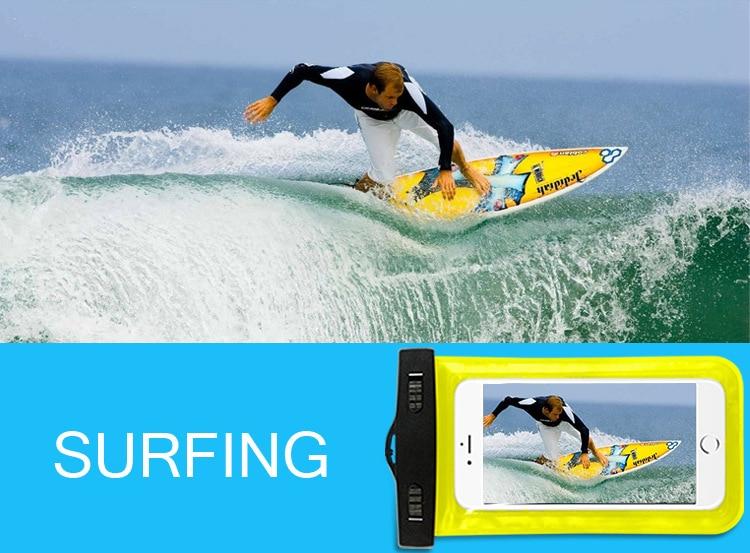Tmalltide Uniwersalny Telefon Torby Etui z Paskiem Wodoodporne Przypadkach 5S Pokrowce na iPhone 6 6 S 7 Plus Skrzynki Pokrywa 15