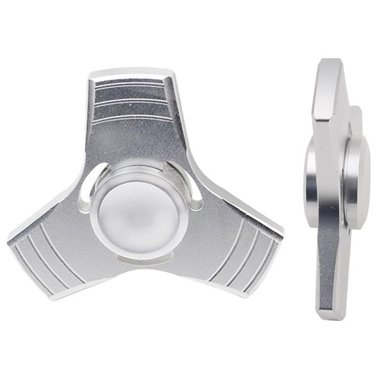 5 Kolory EDC Fidget UFO Tri-Cynku Ręcznie Spinner spinner Spinner Ze Stopu Aluminium Fidget Stres Zabawka Lęku Dorosłych Kid Metal Spinner 14