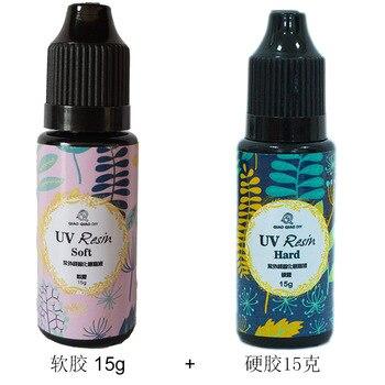 Soft resin hard resin Epoxy UV resin Epoxy high UV fast drying resin