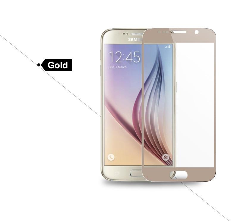Pełna pokrywa screen protector szkło hartowane dla samsung galaxy s3 s4 s5 note 3 4 5 A3 A5 A7 2016 2017 J5 J7 Prime A8 C5 C7 Pro 18