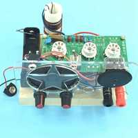 1PCS/LOT DC two lamp tube radio kit DC two light FM tube