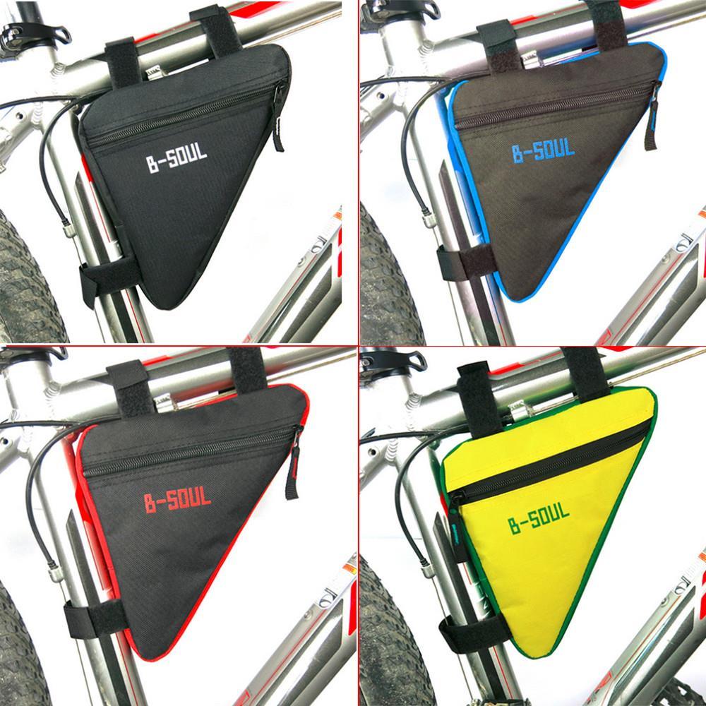 Jazda na rowerze Rower Oxford Tkaniny Rama Pannier Przednia Tube Trójkąt Torba Siodło Etui 4 kolory Dostępne 1