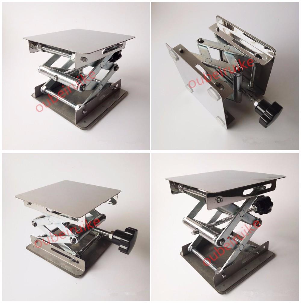 Laboratory Stainless Steel Manual Adjustable Scissor Lift
