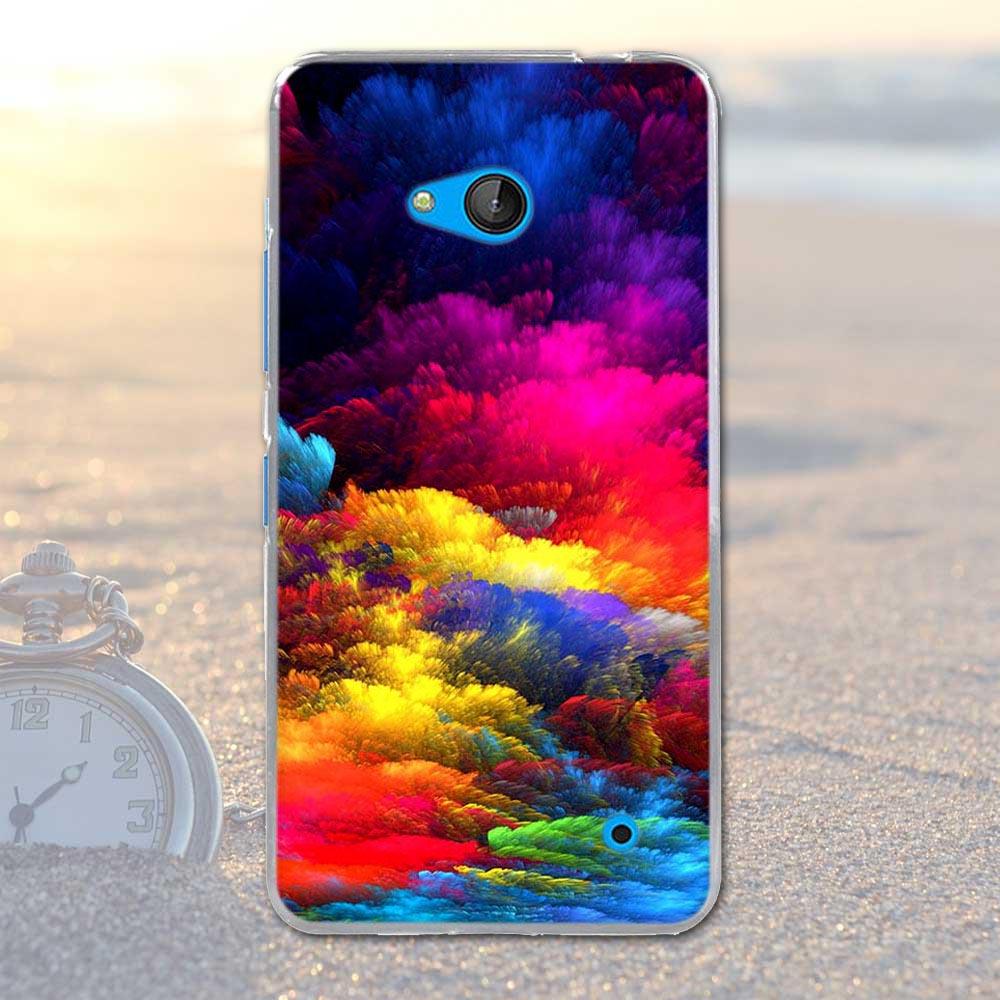 Coque dla nokia 640 case pokrywa dla nokia microsoft lumia 640 silikonowe cell phone case miękka tpu shell dla nokia 640 lumia 640 torba 16