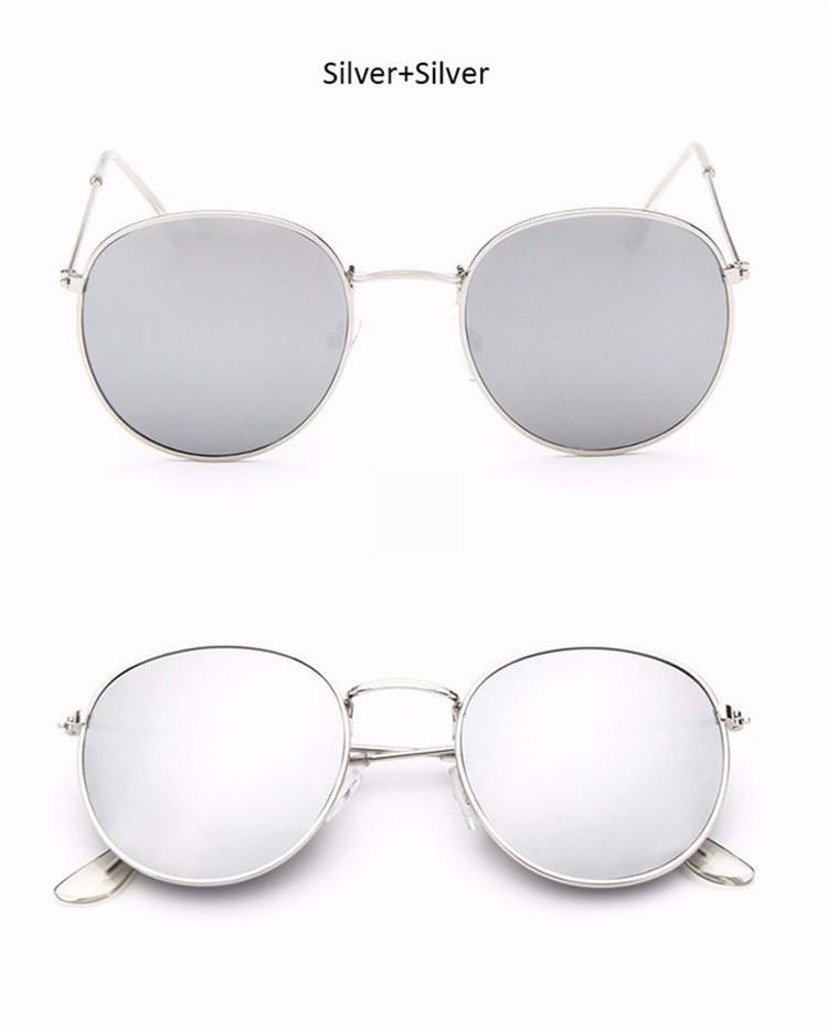 Vintage Round Mirror Sunglasses 9