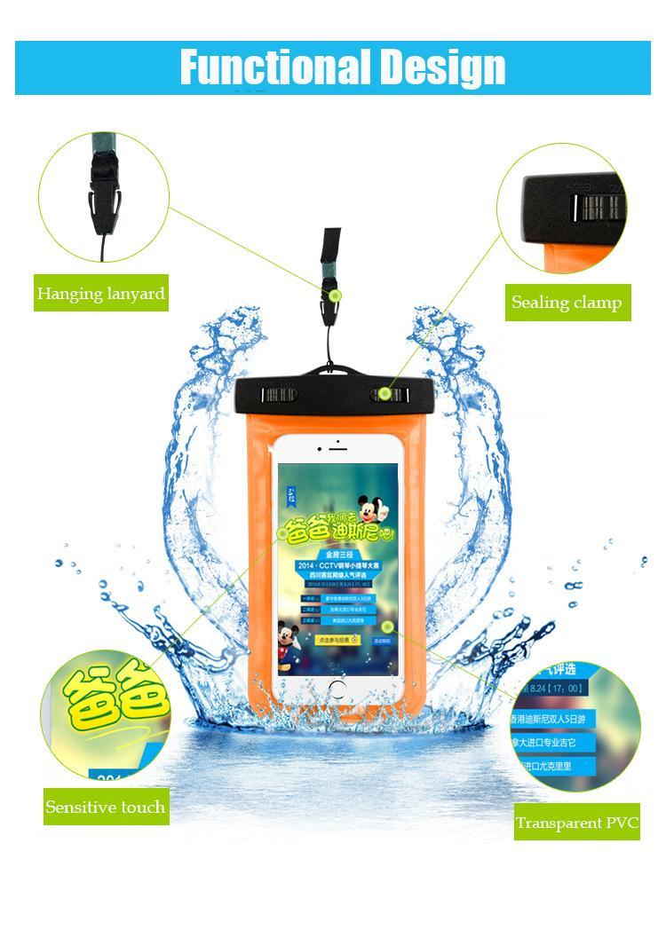 Tmalltide Uniwersalny Telefon Torby Etui z Paskiem Wodoodporne Przypadkach 5S Pokrowce na iPhone 6 6 S 7 Plus Skrzynki Pokrywa 13