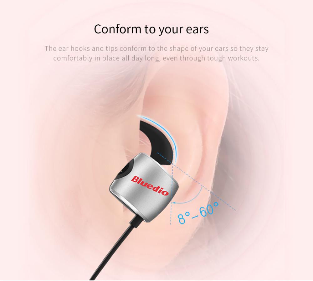 Te bluedio sport zestaw słuchawkowy bluetooth/pot dowód słuchawki bezprzewodowe słuchawki douszne earbuds wbudowany mikrofon 10