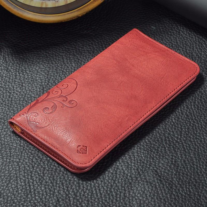 5.5 Uniwersalny Vintage Odwróć Skórzany Portfel Etui Do IPhone 5 6 7 Plus dla HTC Huawei LG Sony Dla Samsung S4 S6 Krawędzi Uwaga 7 Case 9