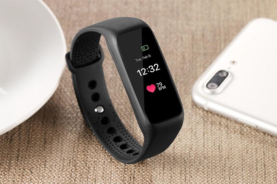 Lemfo l30t kolorowy ekran inteligentny zespół pulsometr krokomierz uśpienia fitness tracker dla andriod ios telefon 13