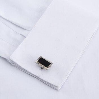 5fad4573b13cd New Arrival 2019 French Cuff Men's Shirt Dress White Shirt Long