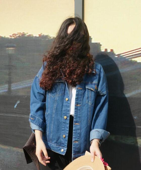 Bf Wiatr Jesienią I Zimą Kobiet Kurtka Dżinsowa 2017 Rocznika Harajuku Oversize Luźne Kobiet Jeans Płaszcz Solidna Slim Chaquetas Mujer 3