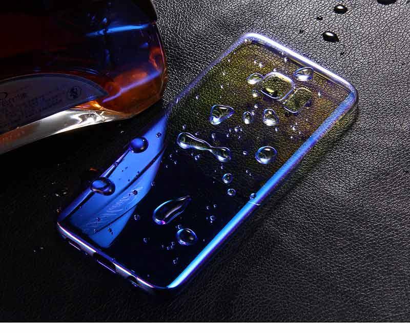 Kolorowe case do samsung galaxy s7 edge s8 plus s8 case gradientu kolor pc mocno plecy pokrywa dla samsung s8 s7 krawędzi case artisome 10