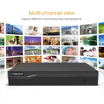 NVR Eye4 Onvif 2 4 8CH NVR Netwerk Video Recorder Voor IP Camera