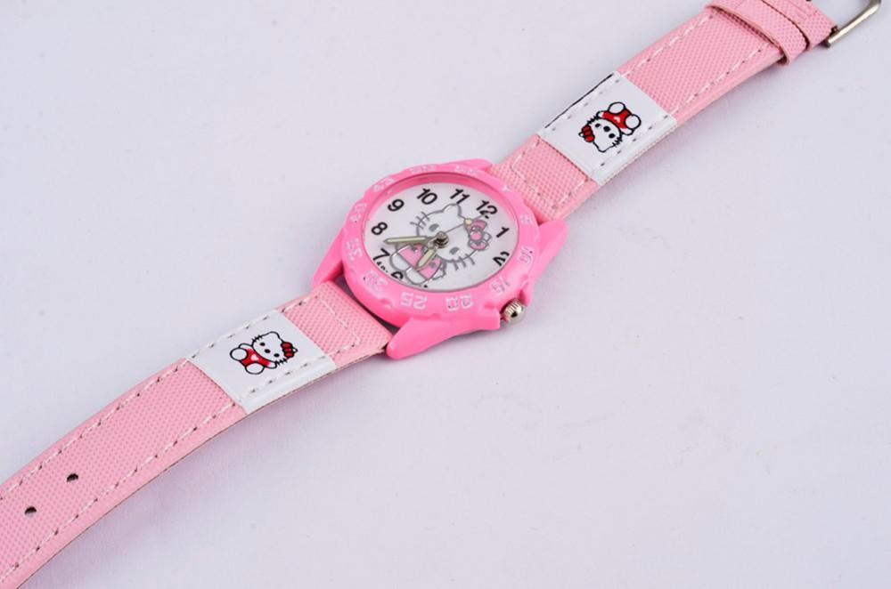 Tüdrukute kellad Hello Kittyga