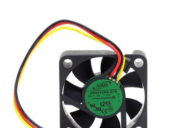 Wholesale: original ADDA AD0412HX-G76 40*40*10 4CM 12V 0.10A speed mute cooling fan