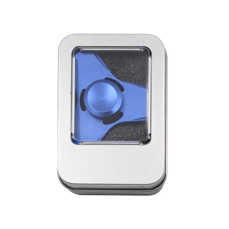 5 Kolory EDC Fidget UFO Tri-Cynku Ręcznie Spinner spinner Spinner Ze Stopu Aluminium Fidget Stres Zabawka Lęku Dorosłych Kid Metal Spinner 10