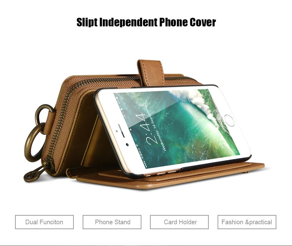 Floveme vintage leather wallet phone case for iphone 7 7 plus 6 6 s plus retro torebka slot kart pokrywa dla samsung s7 s8 coque 7