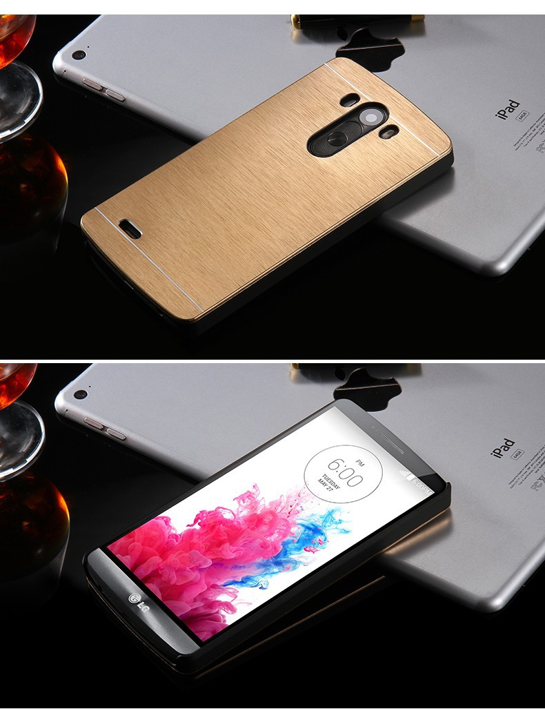 Kisscase złota luksusowe aluminium metal case capa dla lg optimus g3 g4 g3 g5 ultra slim shock proof back cover shell dla lg g3 g4 g2 8