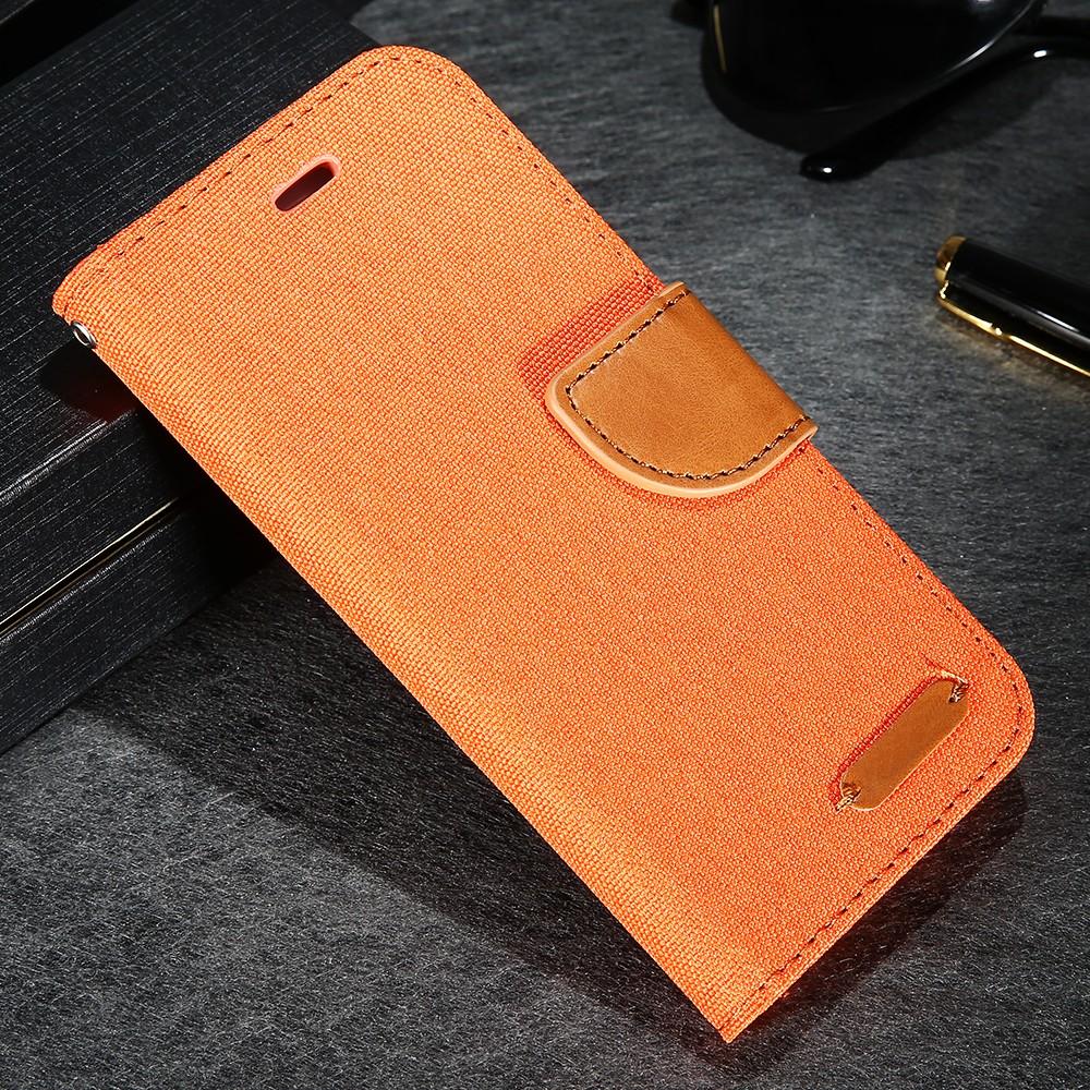Kisscase stań portfel przerzuć przypadki dla iphone 6 6s 7 5 5S mody hit kolor slot kart skóra pokrywa dla iphone 7 6 s plus z logo 30
