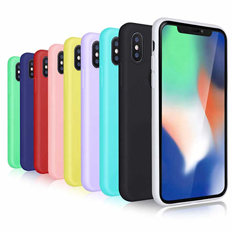 For iphone X Case For iphone 7 Case Cover For iphone 6 funda silicone Case  For 3212ff136be9