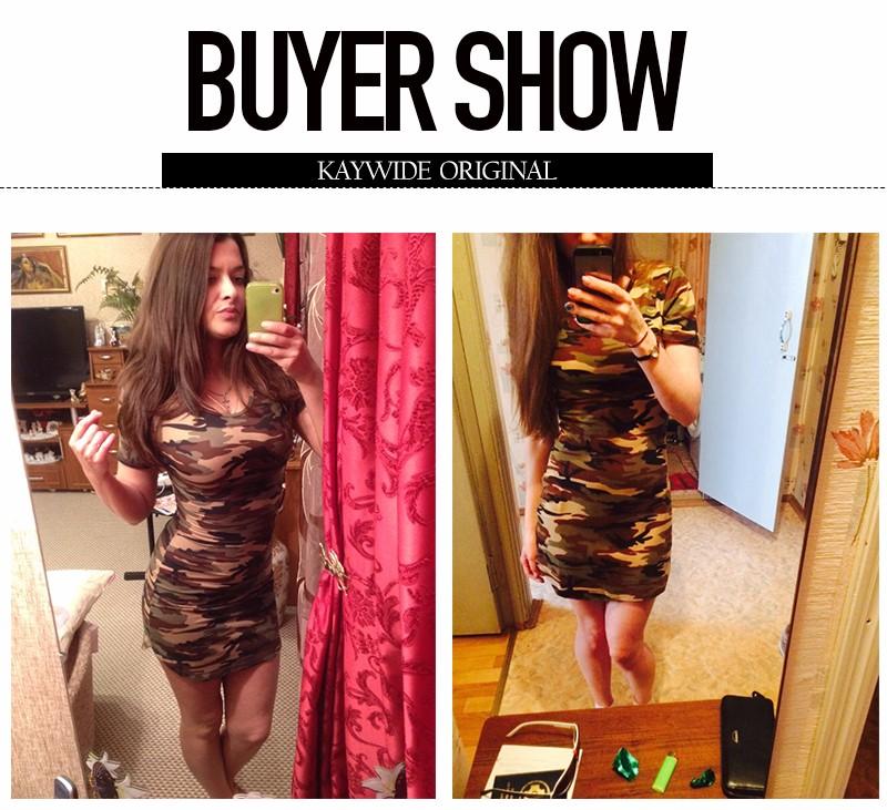 2016 new fashion kobiety lato dress krótki rękaw sexy mini sukienki kobiety zielony kamuflaż druku plus rozmiar kobieta vestidos 5