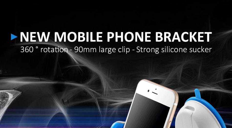 ESVNE Uniwersalny Telefon Samochodowy uchwyt szyby zamontować uchwyt na telefon komórkowy stojak uchwyt Samochodowy uchwyt na telefon Komórkowy Smartfon Telefon 1