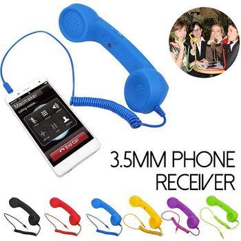 New Arrival Classic retro 3 5 mm Comfort telephone Handset Mini