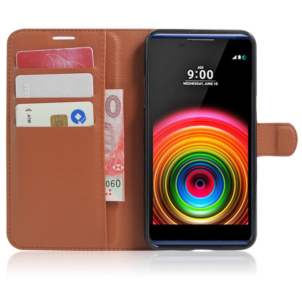 Dla lg x power k220ds case odwróć portfel pu skórzane etui telefon dla lg x power k210 k220 pokrywa uchwyt stojak telefon fundas ls755 torba 6