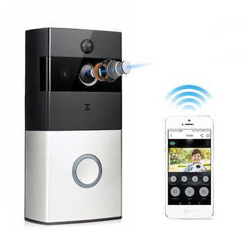 Wi-Fi Enabled Smart Video Doorbell Tuya Smart Life APP Remote Control