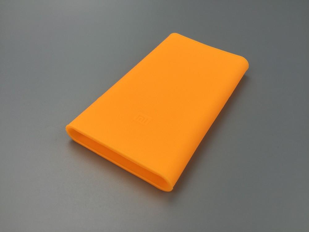 Wysoka jakość xiaomi banku mocy 2 10000 mah case 100% nadające się do mi 2nd generacji mocy banku pokrywa silikonowa case gel rubber case 5