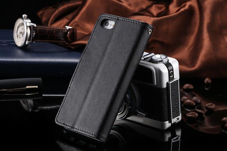 Podwójny kolor klapki skóra telefon torba case dla iphone 6 7 6 s plus 5 5S se gniazda kart + stojak kabura pokrowiec case dla iphone 7 6 6 s 43