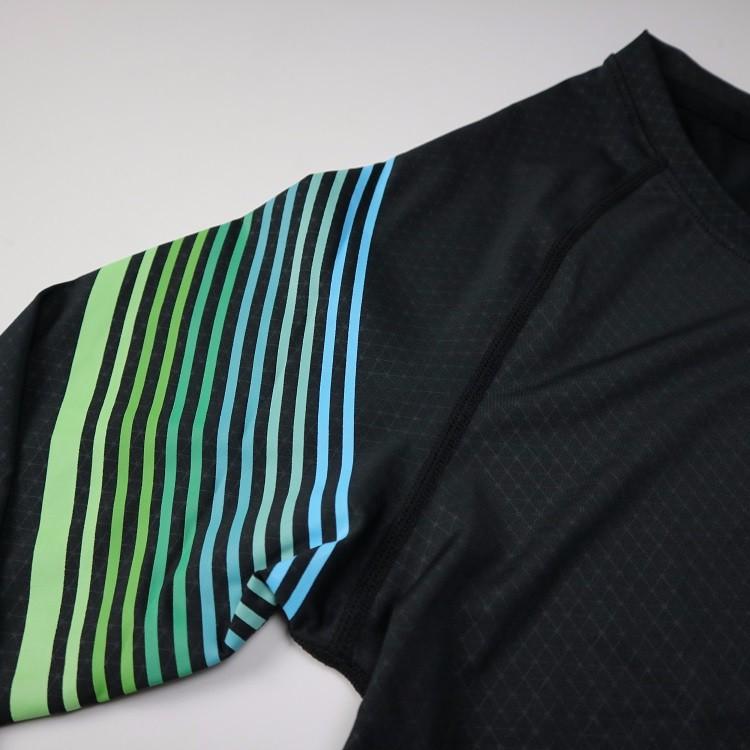 3 Sztuka Zestaw męska sport przebiegu stretch rajstopy legginsy + t shirt + spodenki spodnie treningowe jogging fitness gym kompresji garnitury 9