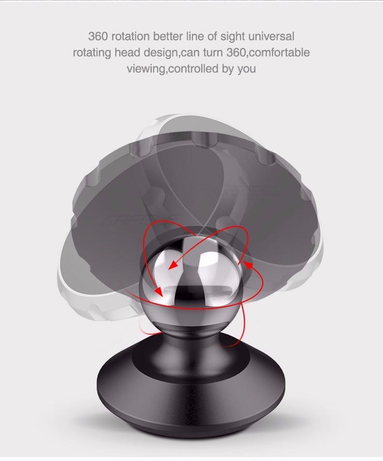 Cafele Oryginalny Uniwersalny Magnes Magnetyczne Telefon Samochodowy Uchwyt Obrót O 360 Stopni Uchwyt Samochodowy Uchwyt dla iPhone Samsung Smart Phone 4