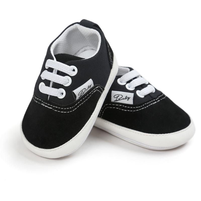 Wiosna Jesień Dziecko Noworodka Dziewczynka Chłopiec Miękkie Podeszwy antypoślizgowe Maluch Prewalker Niemowląt Sneaker Buty Na Co Dzień 8
