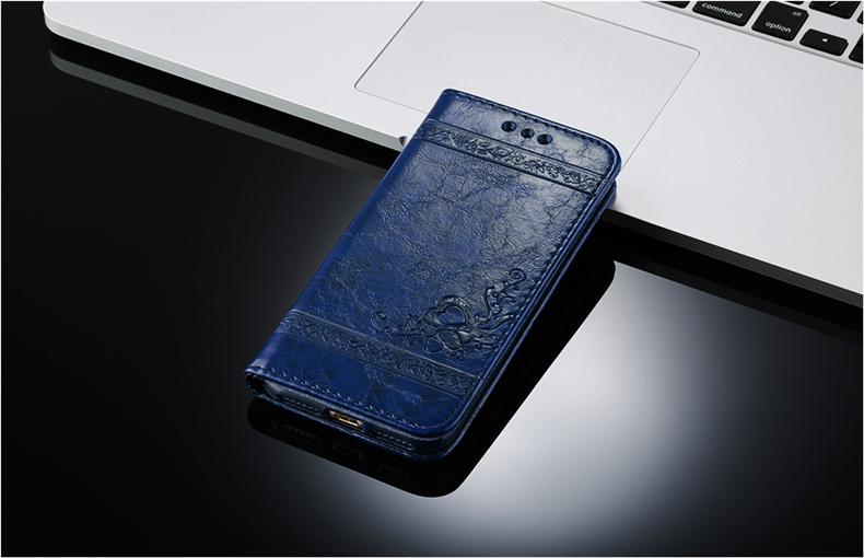 Skórzane etui z klapką telefon case for iphone 7 plus 6 s plus 5S 4S samsung galaxy S3 S4 S5 S6 S7 S8 Krawędzi Plus Uwaga 3 4 5 Karty Telefon torby 14