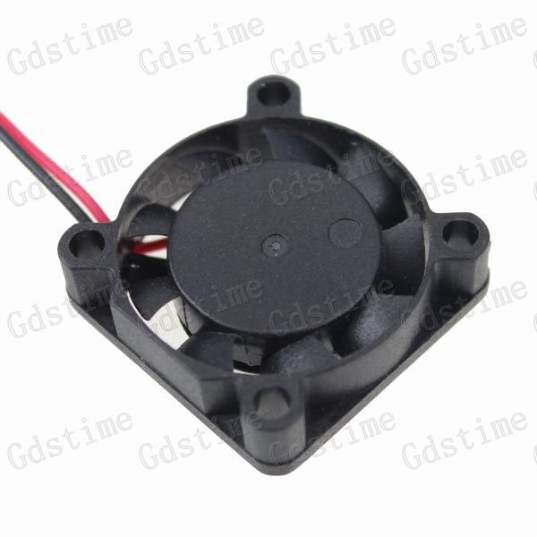1piece Gdstime 5v 25mm x 7mm Mini Cooler 25x25x7mm Small Micro Axial Flow Blushless DC Cooling Fan 2Pin 2.0