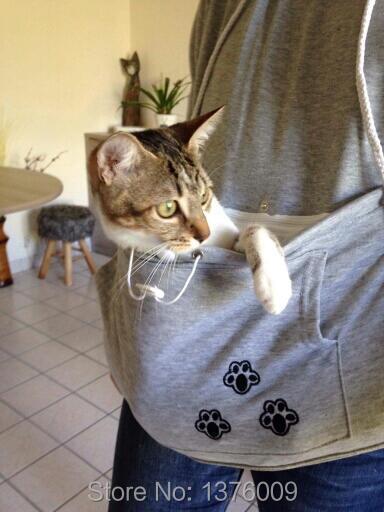 Cat hoodie bluzy z cuddle etui dog pet bluzy dla casual swetry z uszami 13