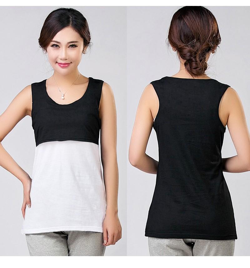 2016 Lato Bawełna Nursing Tank Karmienie Karmienie Piersią Bluzki Ubrania Macierzyństwa Kobiety W Ciąży Moda Matki T-shirt Plus Size 11