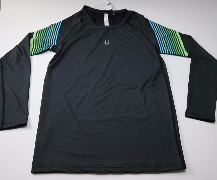 3 Sztuka Zestaw męska sport przebiegu stretch rajstopy legginsy + t shirt + spodenki spodnie treningowe jogging fitness gym kompresji garnitury 5