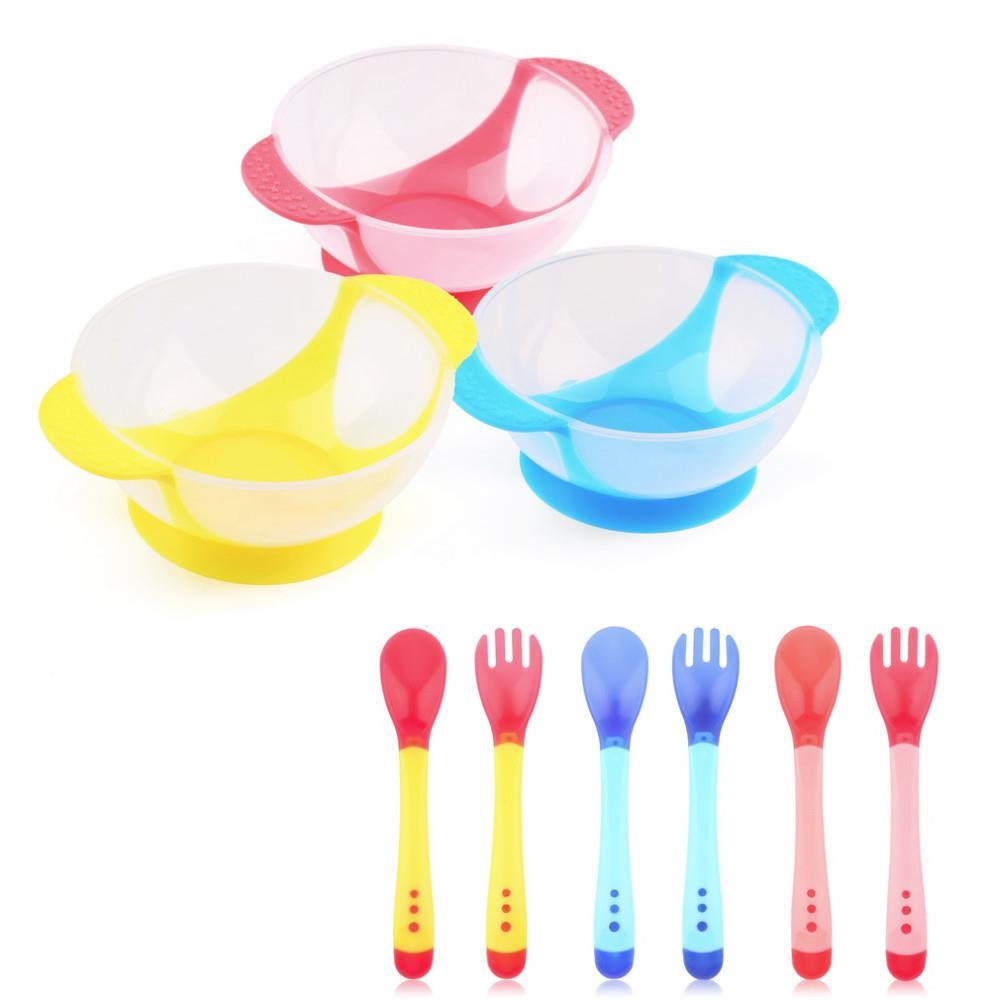 Baby Infants feeding Bowl With Sucker kitchen tools