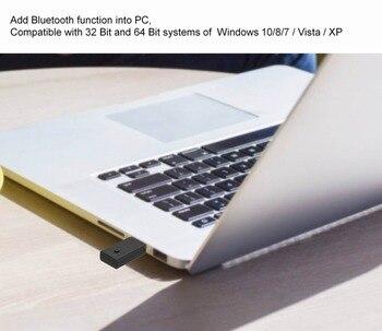 Bluetooth 5 0 Audio aptX LL USB Dongle Wireless MIC Voice Chat Calls