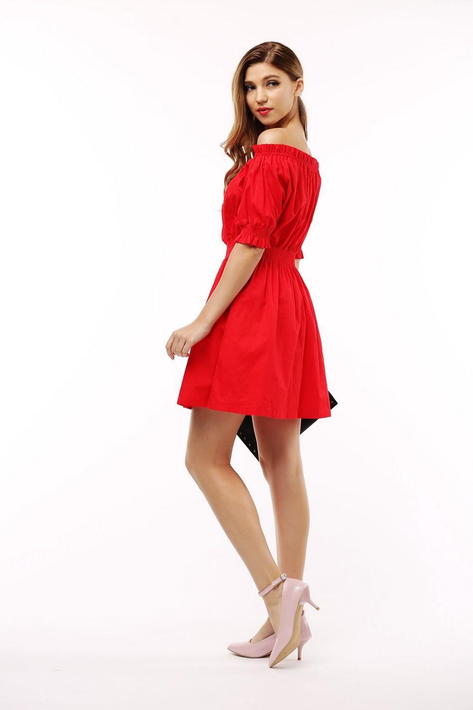 100% bawełna nowy 2017 jesień lato kobiety dress krótki rękaw casual sukienki plus size vestidos wc0380 7