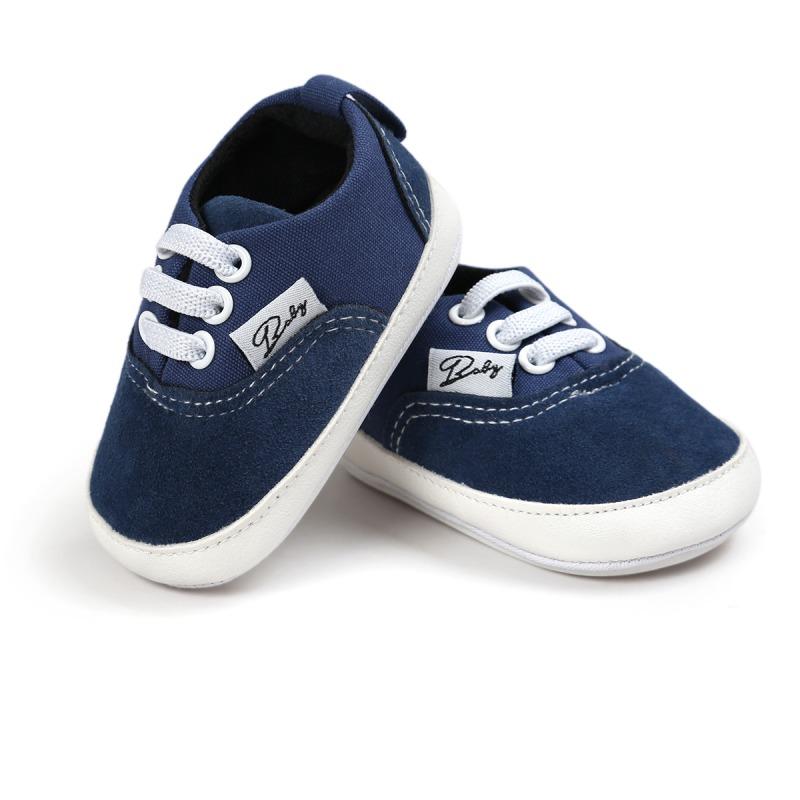 Wiosna Jesień Dziecko Noworodka Dziewczynka Chłopiec Miękkie Podeszwy antypoślizgowe Maluch Prewalker Niemowląt Sneaker Buty Na Co Dzień 15