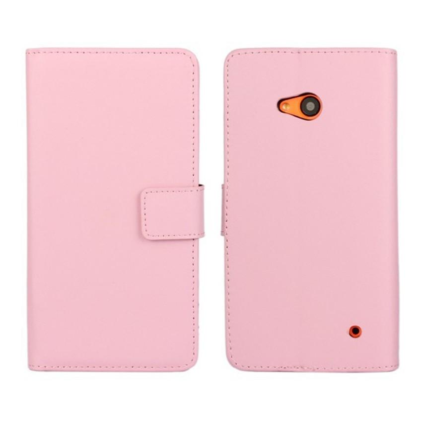 Luksusowe odwróć portfel genuine leather case pokrywa dla microsoft lumia 640 lte dual sim cell phone case do nokia 640 n640 powrót pokrywa 8