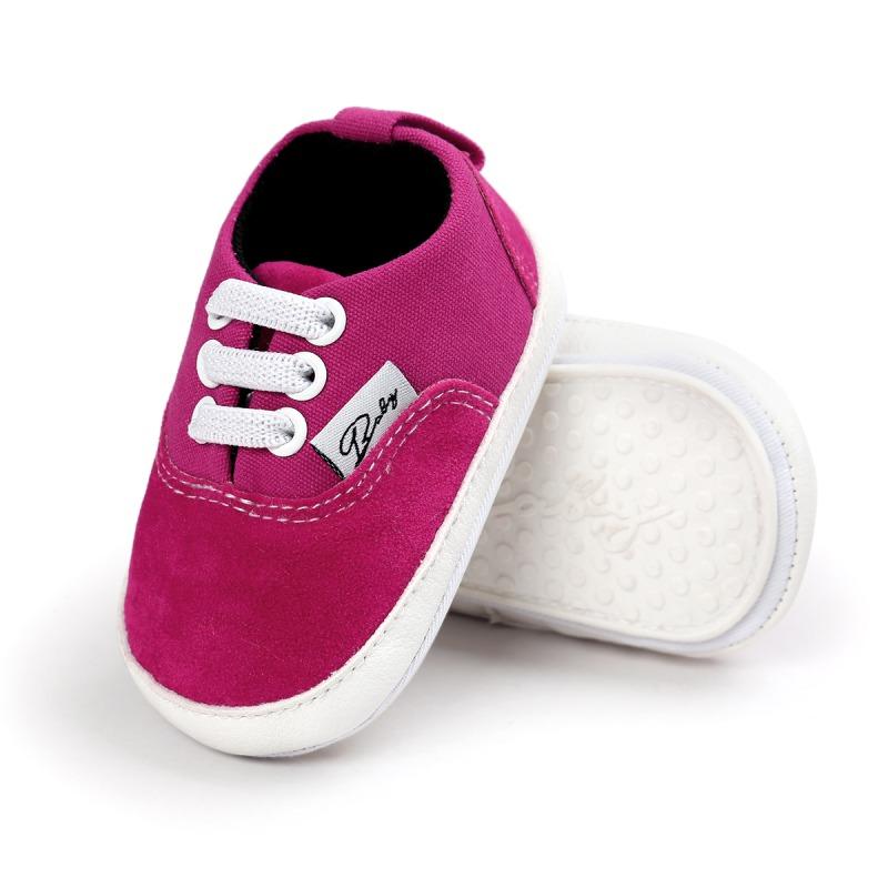Wiosna Jesień Dziecko Noworodka Dziewczynka Chłopiec Miękkie Podeszwy antypoślizgowe Maluch Prewalker Niemowląt Sneaker Buty Na Co Dzień 31