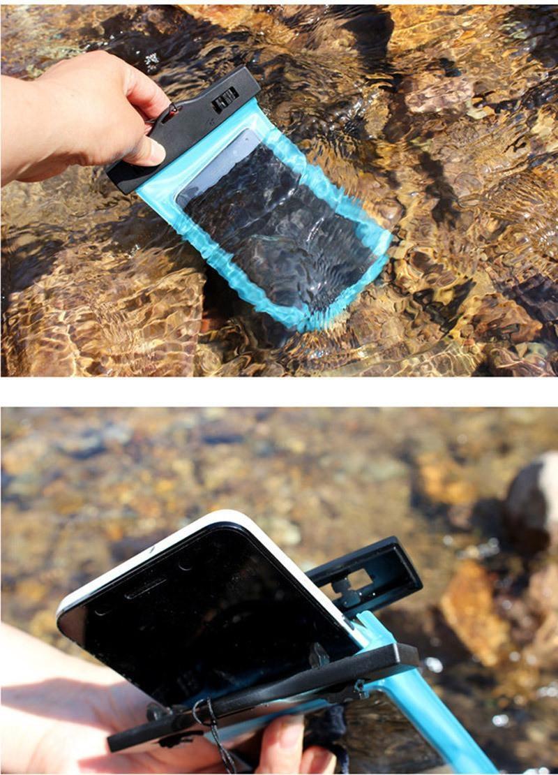 Tmalltide Uniwersalny Telefon Torby Etui z Paskiem Wodoodporne Przypadkach 5S Pokrowce na iPhone 6 6 S 7 Plus Skrzynki Pokrywa 40
